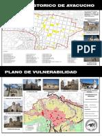 mapa de centro historico de ayacucho