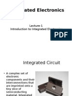 Lecture 1 Introduction to Integrated Circuits