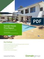 Domain House Price Report September