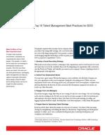 10 Talent Management Best Practices 1657105