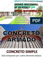 Exp. 1- Concreto Armado - Construcciones