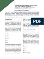 Static and Fatigue Simulation of Aircraf