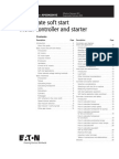 Soft Start Motor controllers and starters