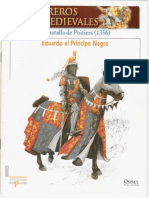017 Guerreros Medievales La Batalla de Poitiers 1356 Osprey Del Prado 2007
