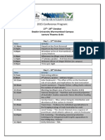 CIE-HDR 2015 Conference Program (27-29 Oct 2015)