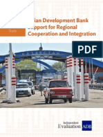 Thematic Evaluation Study on ADB's Efforts on Regional Cooperation and Integration
