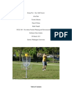 final disc golf project