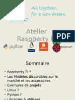 Atelier Raspberry Pi