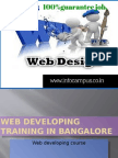 Web Developing Training course in bangalore