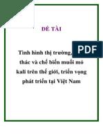 Khai Thac Va Che Bien KCl