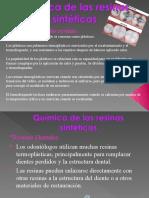 Quimica de Las Resinas Sinteticas Materiales