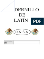 Cuadernillo de Latin 1º Parte