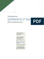 Cuaderno Griego Apéndice 2º