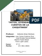 cultura chiquitana en bolivia
