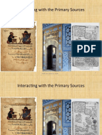 Interacting With the Primary Sources