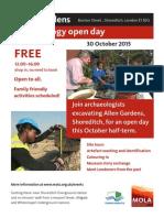 Allen Gardens Open Afternoon