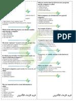 Comp Sheet