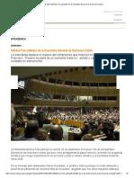 Noticias MR _ Mónica Fein Participó de La Asamblea General de Naciones Unidas