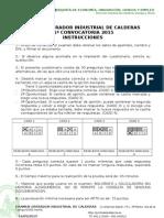 Plantillas Examen Operador Calderas 2015-I