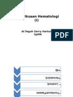 Kuliah 2- Hematologi 1 - Untag