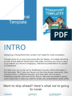 Instructional Template