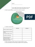 Examen de Biología y Geología. Tema 1