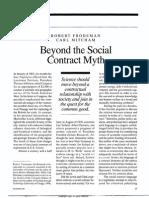 Beyond the Social Contracy Myth