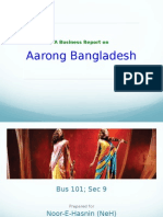 Main Powerpoint Slide of Aarong Bangladesh