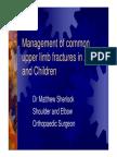 Management of Fractures - Dr Matthew Sherlock
