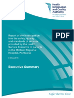 Portlaoise Investigation Exec Summary