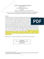 Fonseca-El Sujeto Del No Ser en Las Relaciones Internacionales