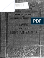 Janjic - Lives of Serbian Saints