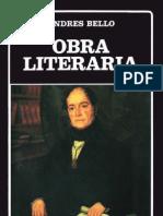 Obra Literaria - Andrés Bello