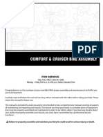 Cruiser Comfort Bike Manual