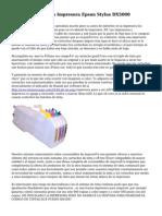Cartuchos De Tinta Impresora Epson Stylus DX5000