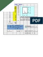 Development Length Excel sheet