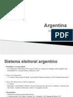 Apresentação Argentina