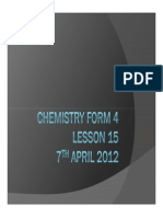 Chemistry Form 4 Lesson 14-1