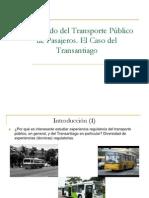 Derecho Economico Clase No15 Mercado Del Transporte Publico. Caso Transantiago Revisado