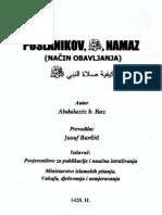 Poslanikov s.a.w.s. Namaz (Šejh Bin Baz-Šejh Jusuf Barčić r.h.)