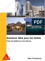 Solutions Sika Hotels
