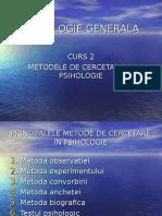 Curs 2-Metode de Cercetare in Psihologie