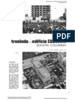TRASLADO DE EDIFICIO EN COLOMBIA