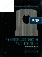 Baroque and Rococo Architecture (Art eBook)