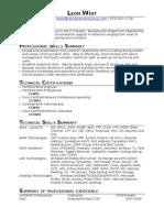 Jobswire.com Resume of lwest