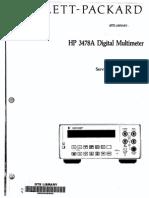 HP3478 Service Manual (2)
