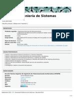 Ingeniería de Sistemas Electrónicos (ETSETB)