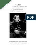 Affiche pour concert de Goersdorf