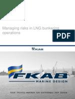 Managing Risks in LNG Bunkering by Magnus Wikander - SafeShip 20101006