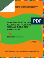 5 razones por las cuales el trabajo sexual debe ser regulado